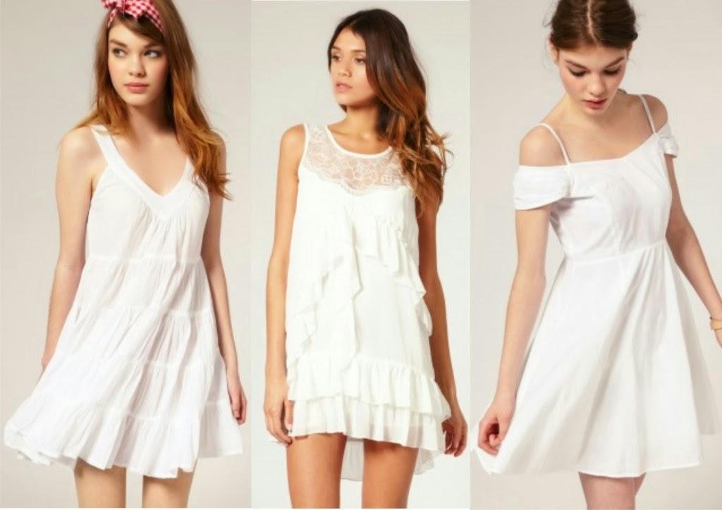 Vestidos Brancos Para o Réveillon 2015