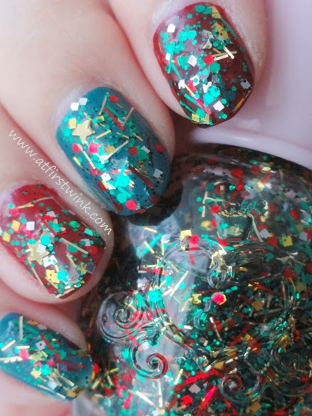 Etude House If Story nail kit 3 nail polish 2