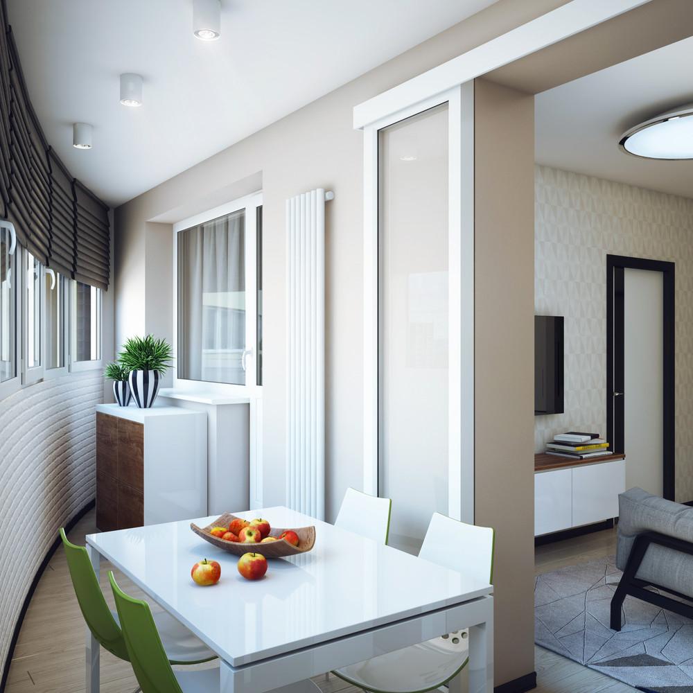 Светлый дизайн малогабаритной квартиры. фото пример. совреме.