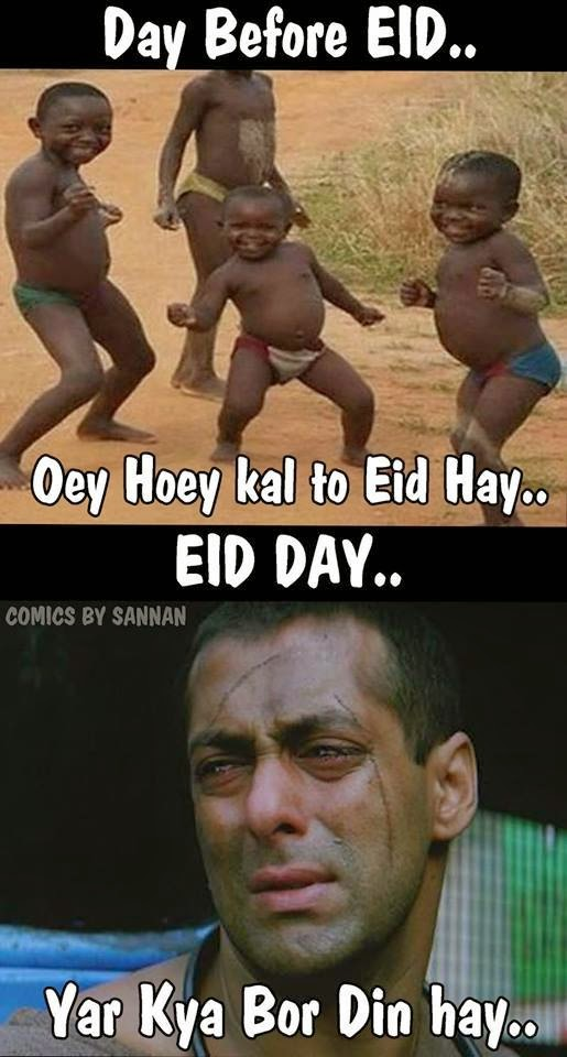 pakistani people before and after eid funny