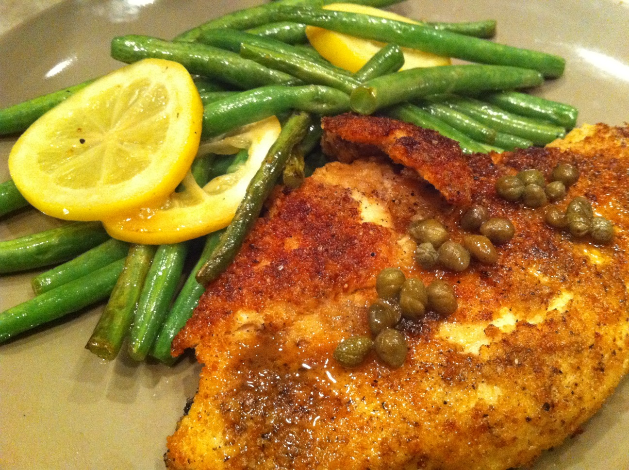 Cooking with the Catherines: Lemon Chicken with Capers