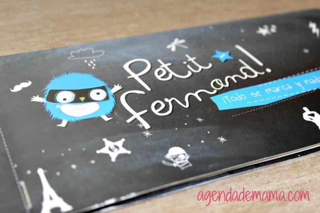 etiquetas adhesivas personalizadas de Petit Fenand