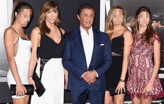 3 Gadis Jelita Ini Rupanya Anak Kepada Sylvester Stallone