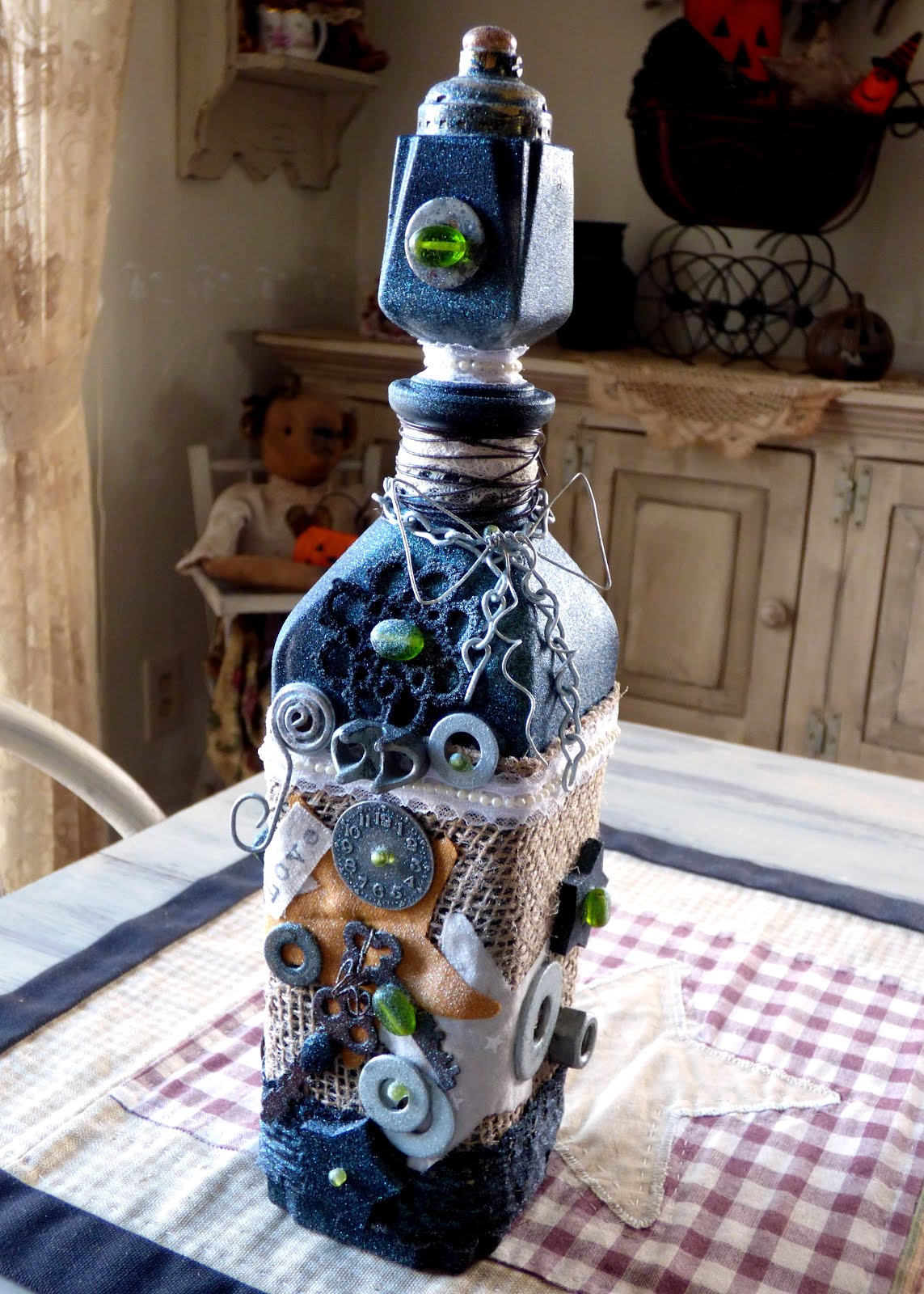 Steam Punk Bottle