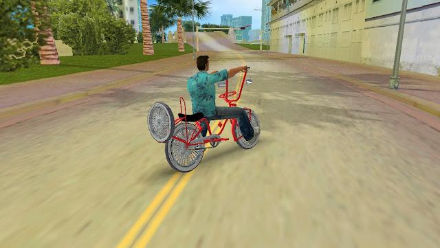 Choofa Lowrider Bike GTA Vice City