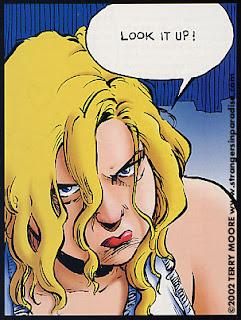© 2002, Terry Moore, www.strangersinparadise.com