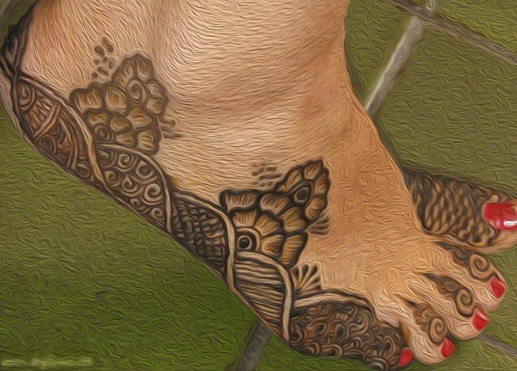 New-Feet-Mehndi-Designs right side