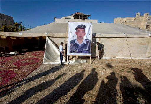 ISIS today released a video showing the execution of Jordanian pilot Lt. Muath al-Kaseasbeh