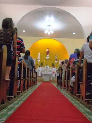 Santa Missa na noite de Natal