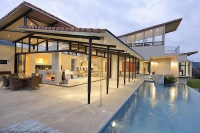 Rumah Tropis Gaya Amerika Latin 5