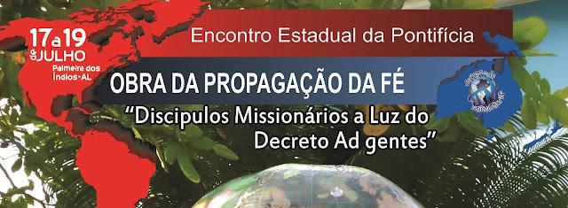 Alagoas realiza encontro estadual da Pontifícia Obra da Propagação da Fé