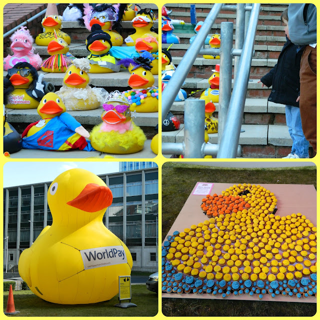 Spinningfields Manchester Corporate Duck Race Ducks 2013 Best Dressed
