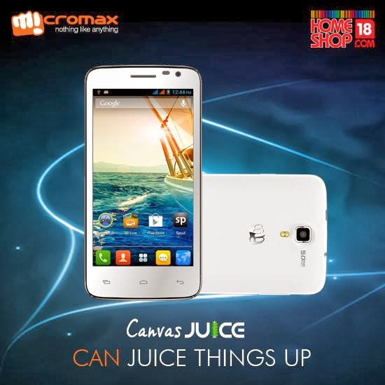Micromax Canvas Juice A77 With 3000mAh Battery