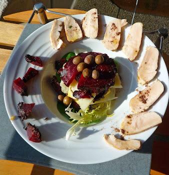 La salade d'hiver du Bourdon de Royan