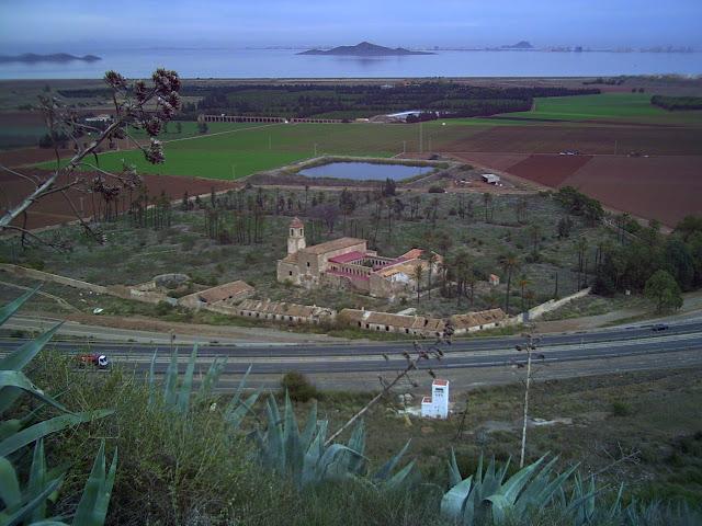 Monasterio de San Gines de la Jara.desde el monte Miral