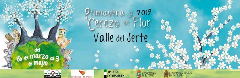 Cerezo en Flor Valle del Jerte. PROGRAMA OFICIAL 2019