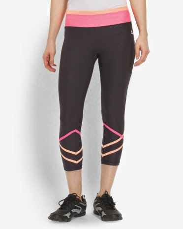 Style Athletics Pink Orange Black RBX Workout Pants Capris