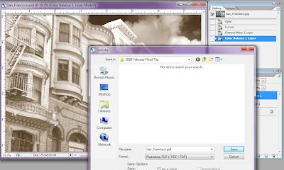 photoshop save multi page pdf