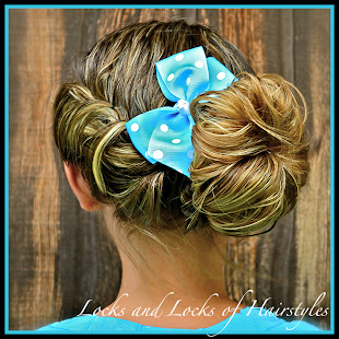 Bohemian Twist with Sock Bun