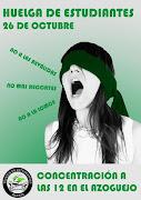 Huelga de estudiantes 26 Octubre Segovia