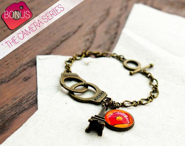 handcuff charm bracelet
