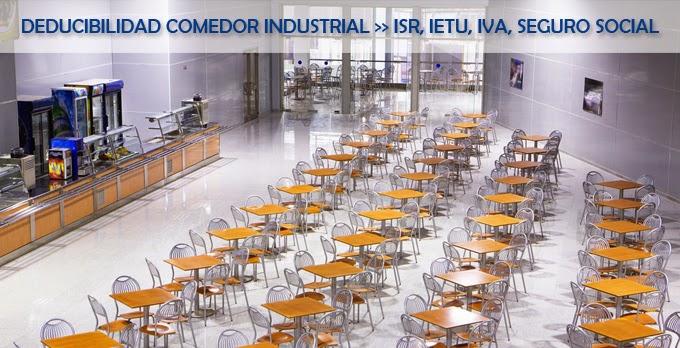 Fm gastronomia deducibilidad del comedor industrial como for Concepto de comedor industrial