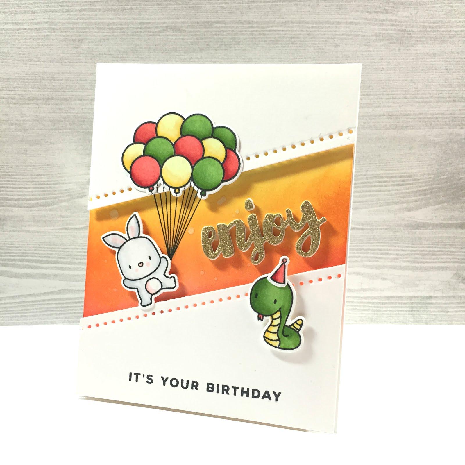 Bubblegum Paper Birthday Gift Card Happy Birthday Jeremy