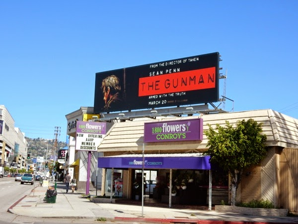 The Gunman billboard