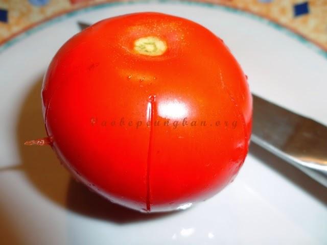 Cách làm mứt cà chua quả to cực ngon 1