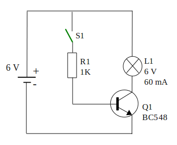 switch transistor off