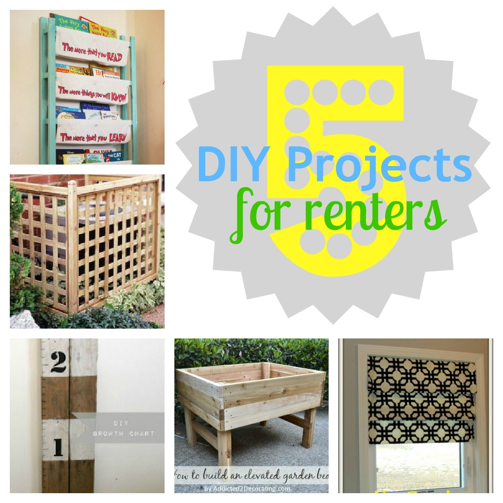 gifts we use 5 diy projects for renters