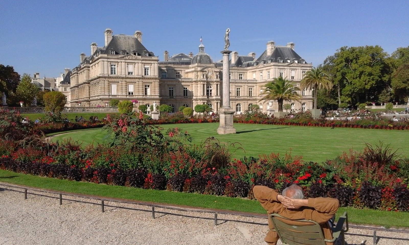 metido en jardines jardines de luxemburgo par s francia
