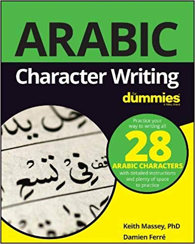 You can master Arabic writing with Arabic Character Writing for Dummies.