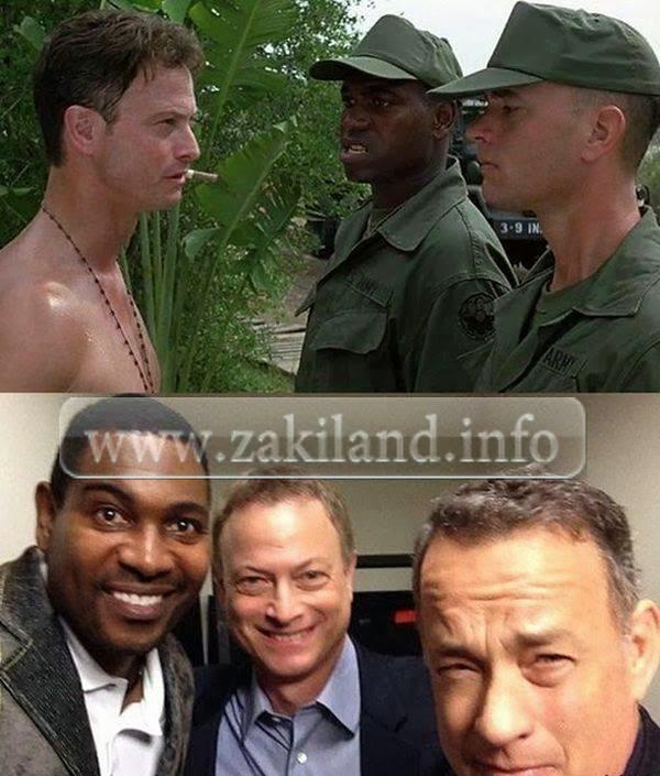 Les acteurs de Forrest Gump 20 ans plus tard tom hanks