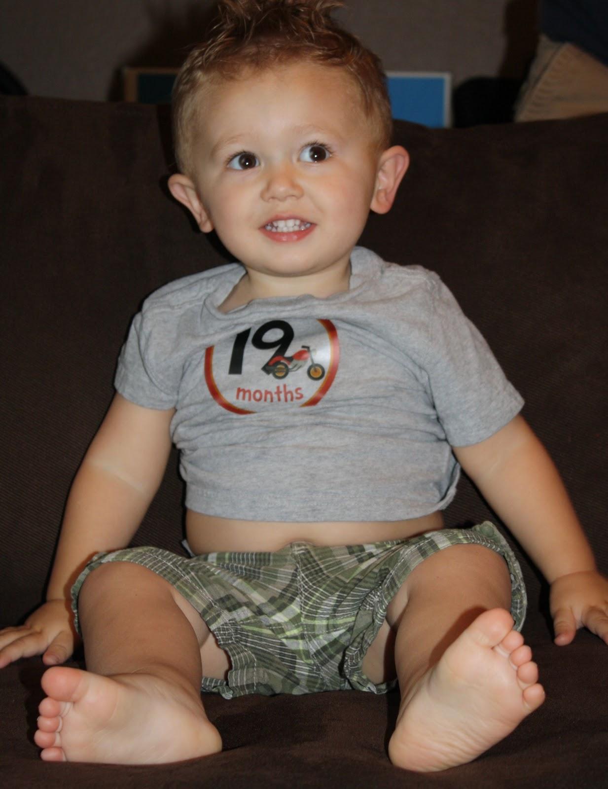 Baby McDermott: 18 & 19 Months Old