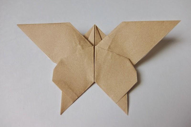 クリスマス 折り紙 折り紙 ちょうちょ : mahhonn.blogspot.com