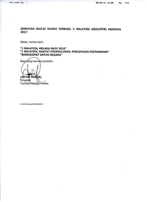 Malacca tourism association hari raya open house invite cc en jeffri munir director stopboris Gallery