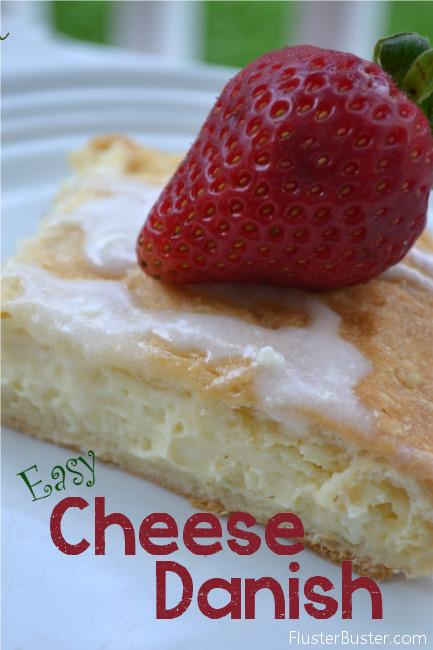 Fluster Buster: Easy Recipe: Cream Cheese Danish