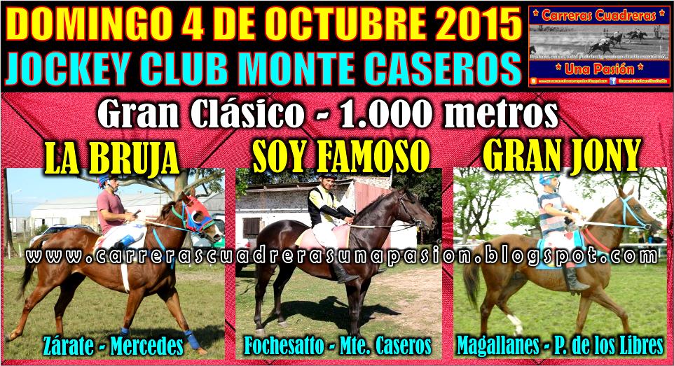 MONTE CASEROS - CLASICO 1.000