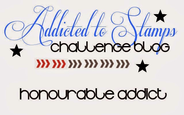 Honourable mention Addicted to Stamping 13.June 2014