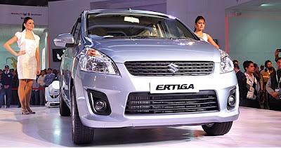 Harga Mobil Suzuki Ertiga Spesifikasi 2012
