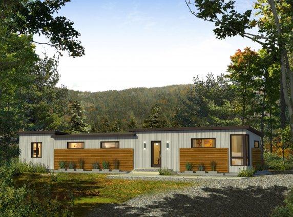 Prefab homes and modular homes in canada bonneville homes - Maison mobile neuve ...