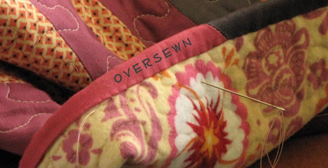 oversewn