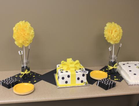 decorating baby bee decoration ideas bumble shower