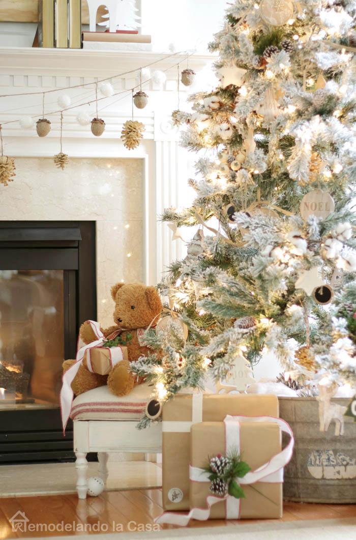 Remodelando La Casa Natural Rustic Christmas Tree