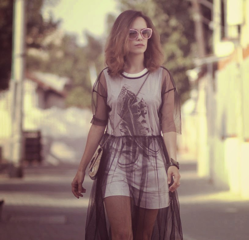 combination,אופנה,בלוגאופנה,סטייליסטית, שמלה,dress,chiffon,lookoftheday