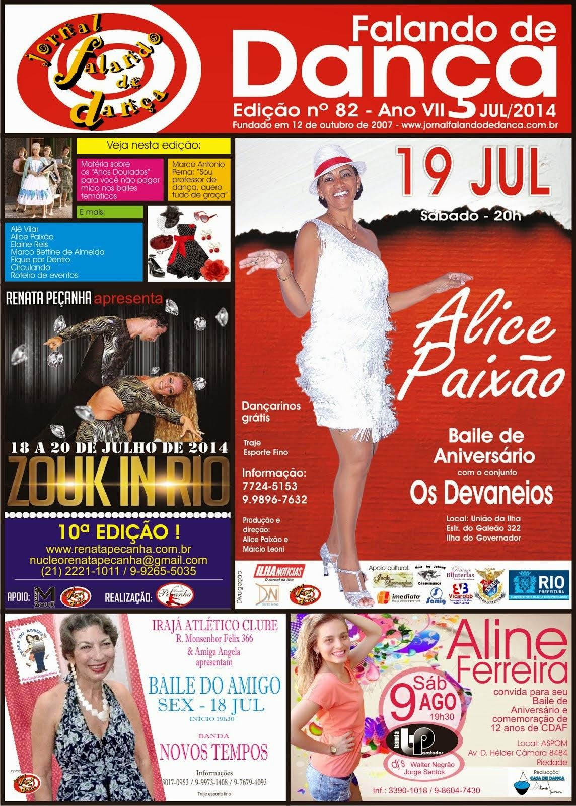 Leia on line a ed 82 (Julho/2014)