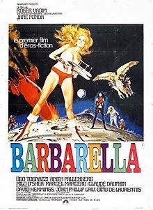 Duran Duran naam geschiedenis - Barbarella-french-film-poster