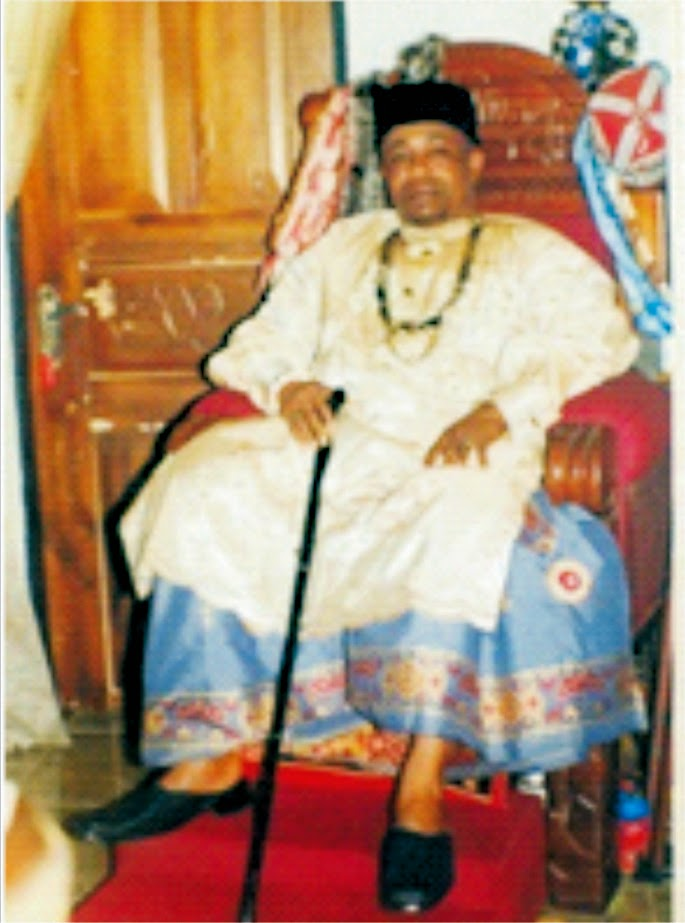Ibeno Monarch receives commendation from youths