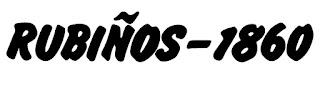 Editorial Rubiños 1860